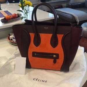 Celine Tri Color Mini Luggage